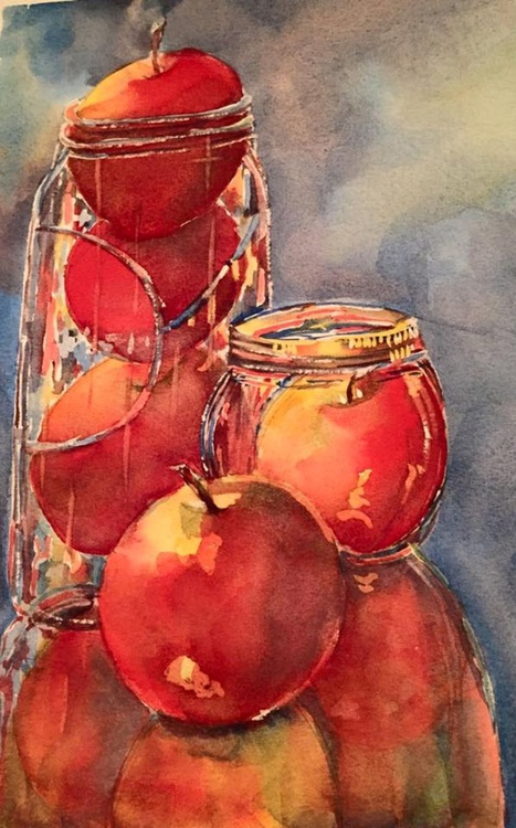 Apples in a Jar - Image 0