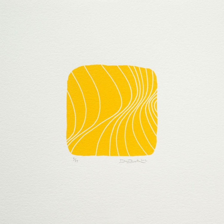 Bright Wave in Yellow - Image 0