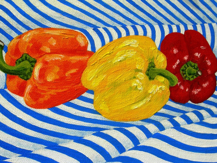 Three Peppers - Image 0