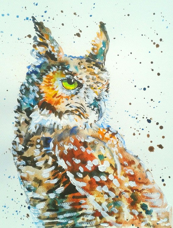 """Great Horned Owl"" - Image 0"