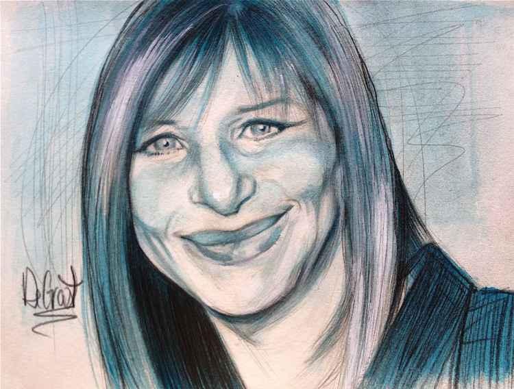 Iconic Barbra Streisand -