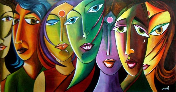 Dreams and Hopes- Original Acrylic Painting _ Sodd - Image 0
