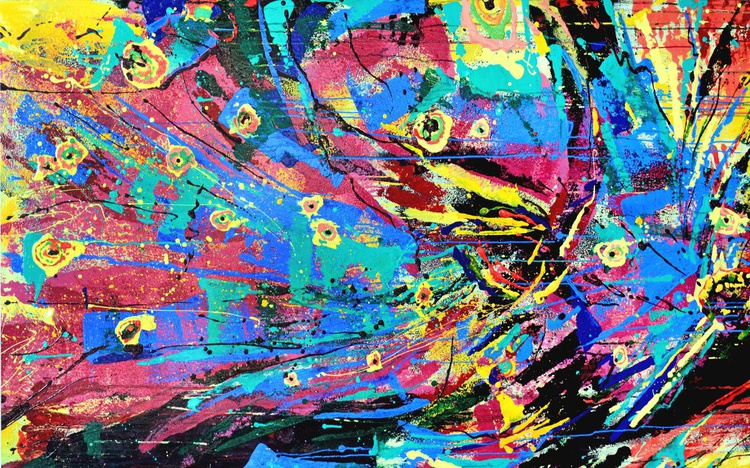 Firebird. 150х90cm - Image 0