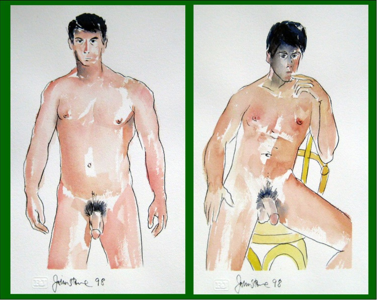 TWO MALE NUDES - Image 0
