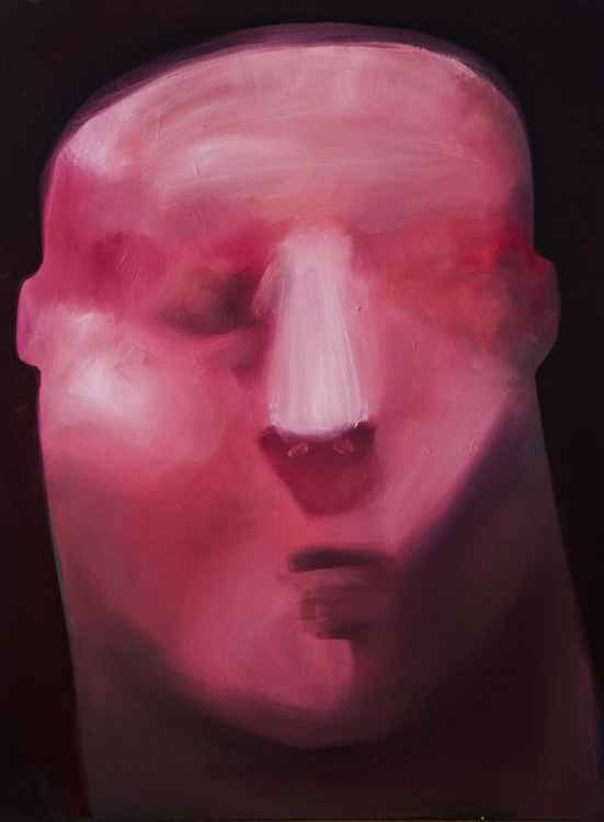 pink head -