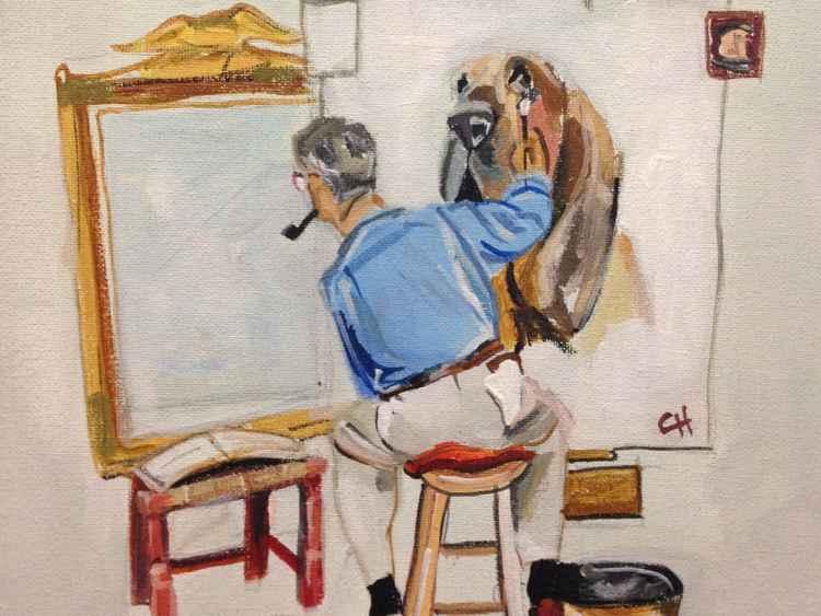The Dog Artist -
