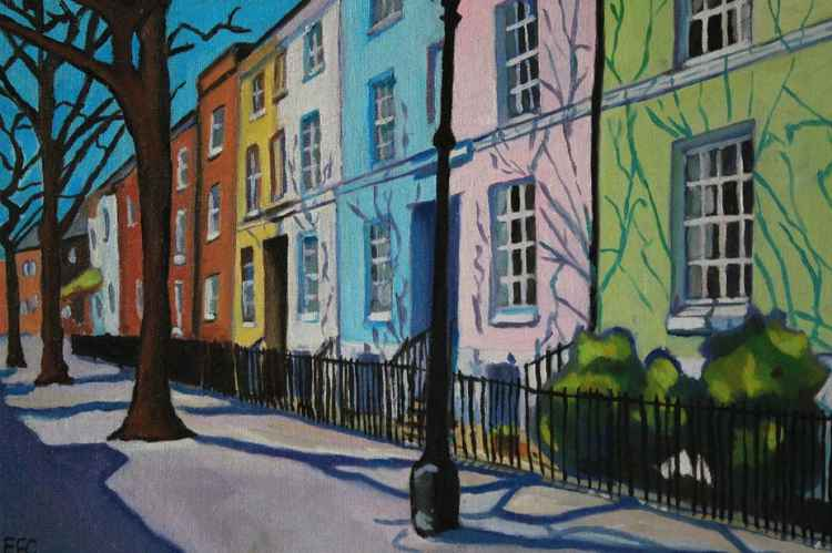 Painted Georgian Terrace
