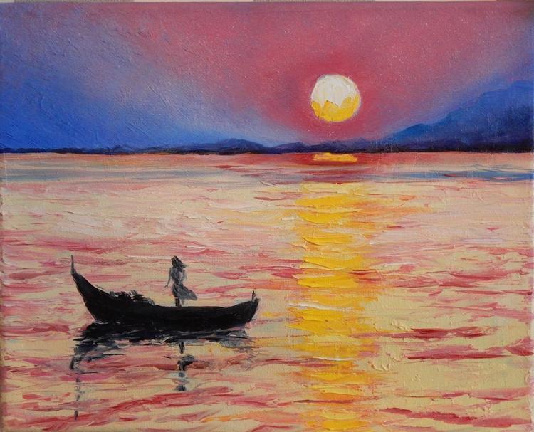 Solitude (1). Seascape. - Image 0
