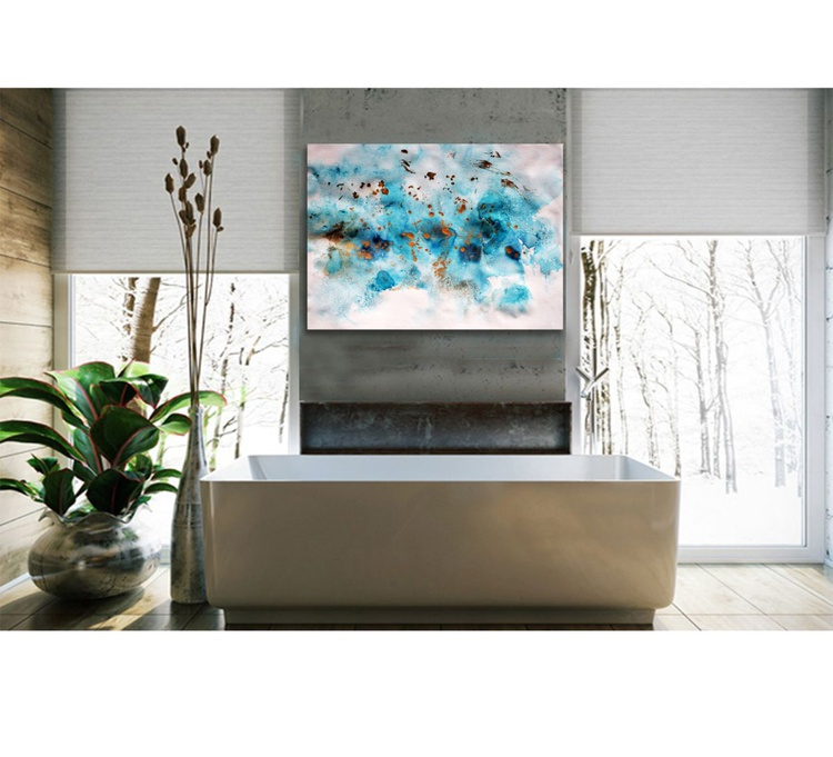 Blue feelings I / 76 cm x 56 cm - Image 0