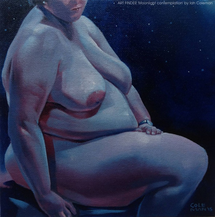 'Moonlight Contemplation' - Image 0