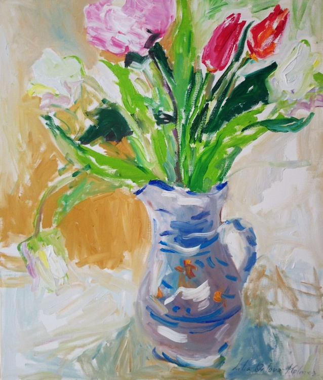 Spring bouquet in the jug - Image 0