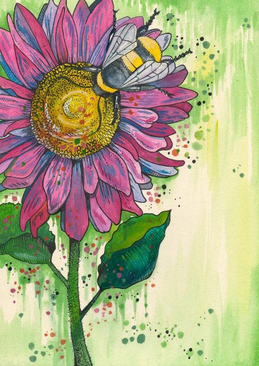 Pink Bee - Image 0