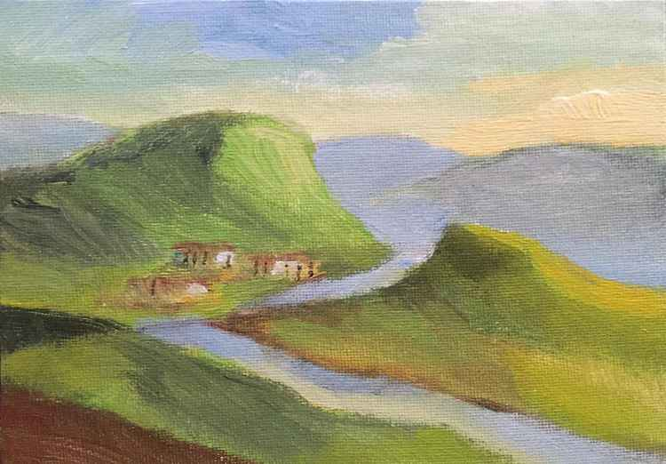 Small Farm in the Hills