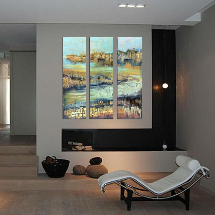 Triptych modern art - Image 0