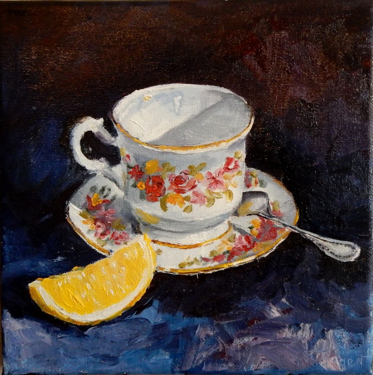 Teacup(2). still life - Image 0