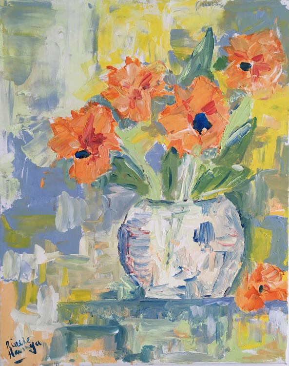 Orange flowers - Image 0