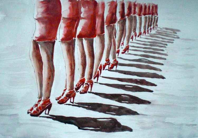 legs parade -