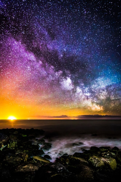 Colours of The Milky Way Print - Image 0