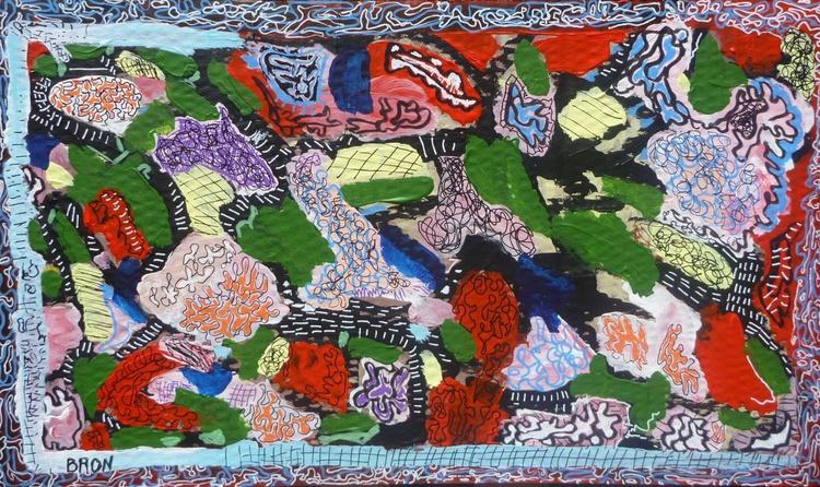 Hommage à Jean Dubuffet 5 - Image 0