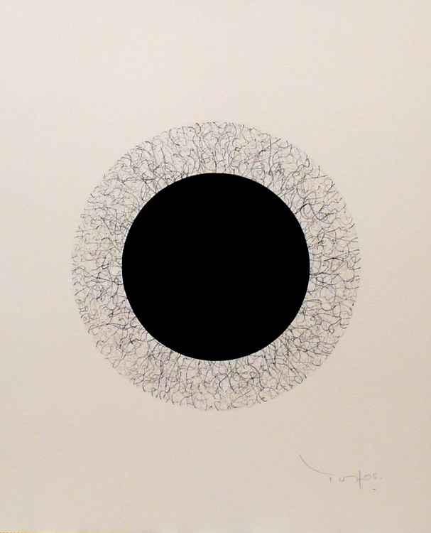 Black circle 01 -