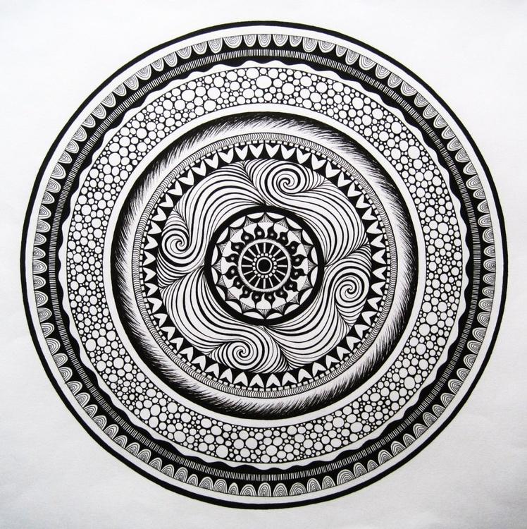 Spiral Mandala - Image 0