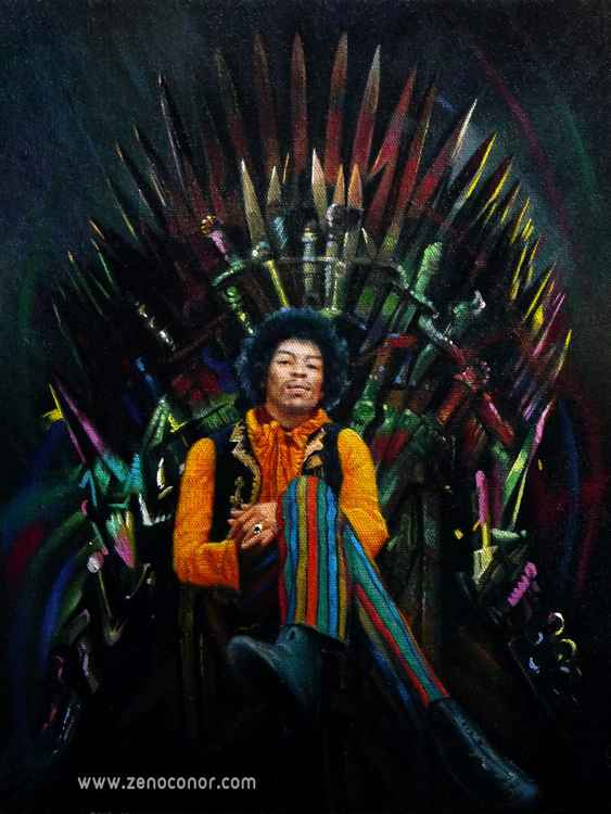 Jimi Hendrix (IRON THRONE)