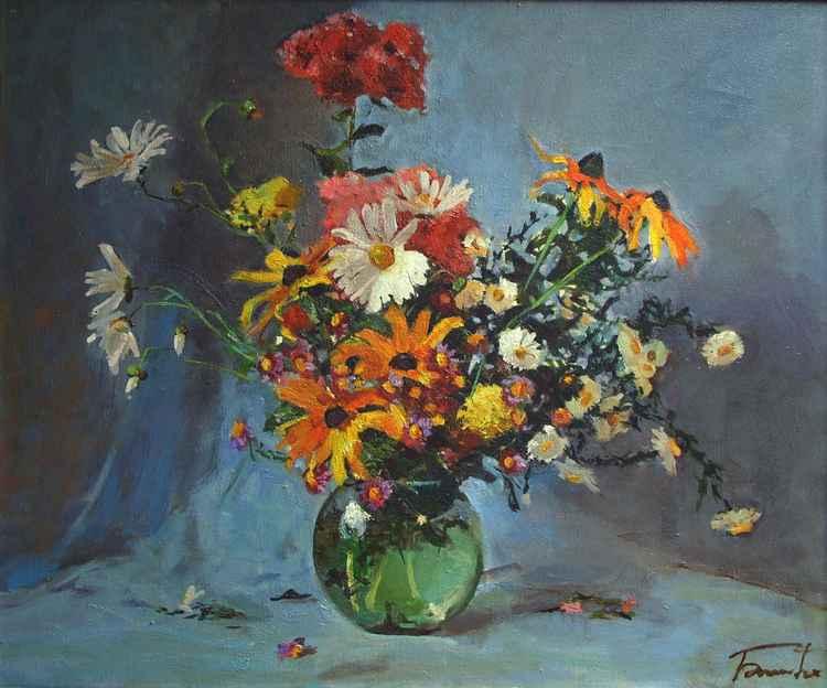 Flowers in vase -