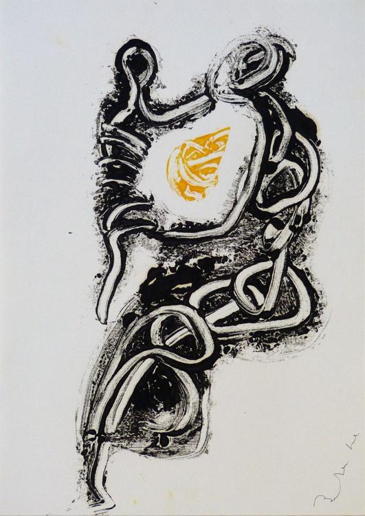 Maternity, monoprint #2, 42x30 - Image 0