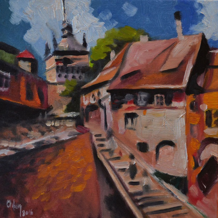 OLD WALLS FROM SIGHISOARA - Image 0