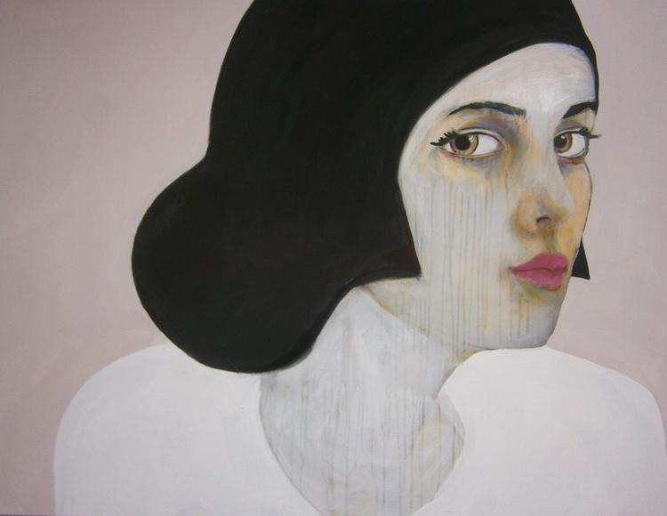 """ Portrait - Fashion model with hat-3"" - Image 0"
