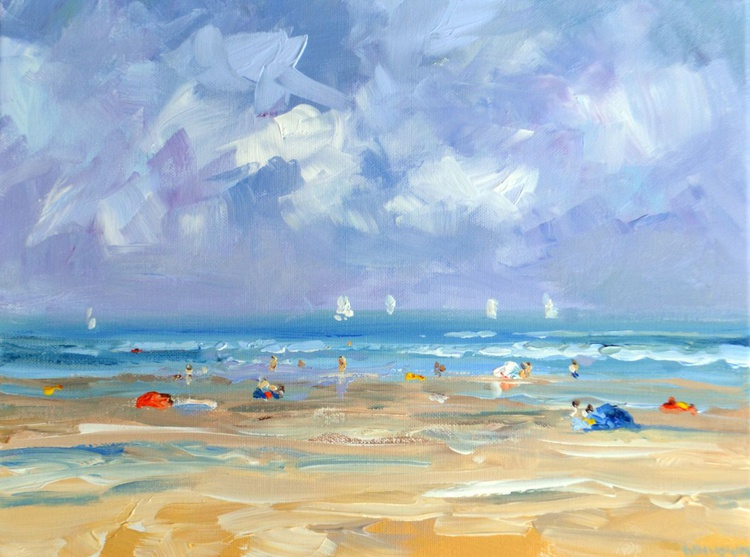 Beach Domburg August 2015 - Image 0