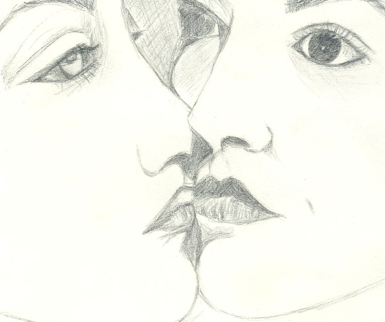 Le Baiser, tribute to Man Ray - Image 0