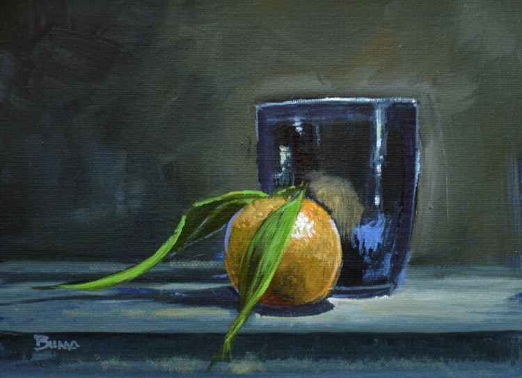 Orange And Cup -