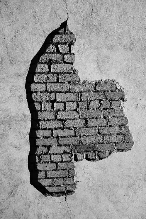 Wall and his bricks -