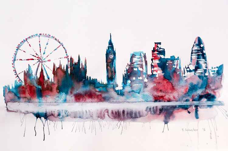 London skyline. v2