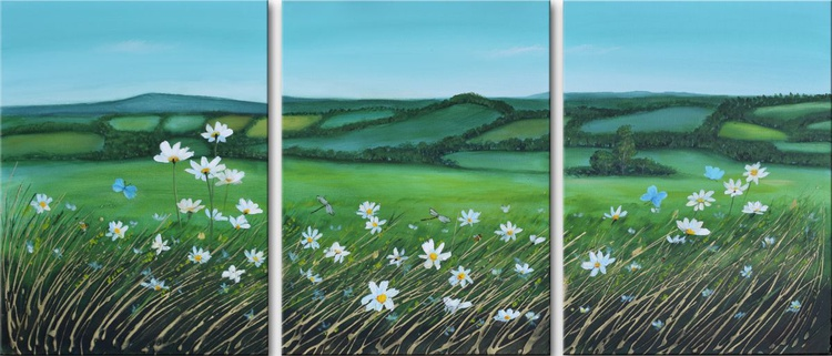 Spring Daisy Field - Image 0
