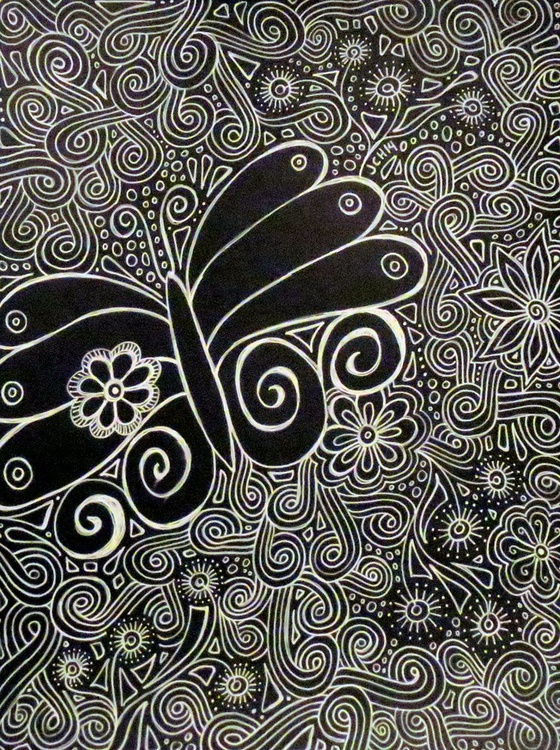 Black and White Butterfly - Image 0