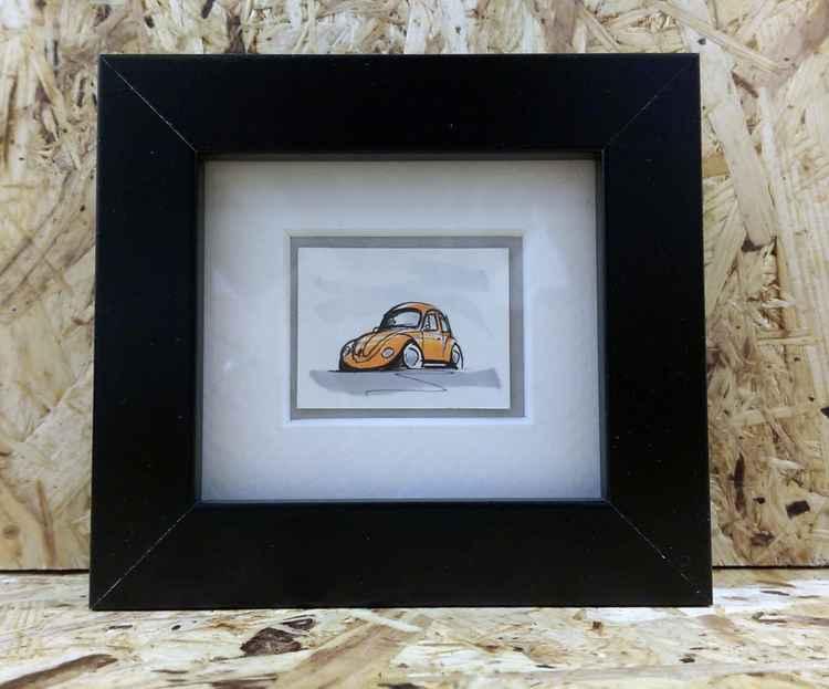 Classic VW Beetle Car (029) -