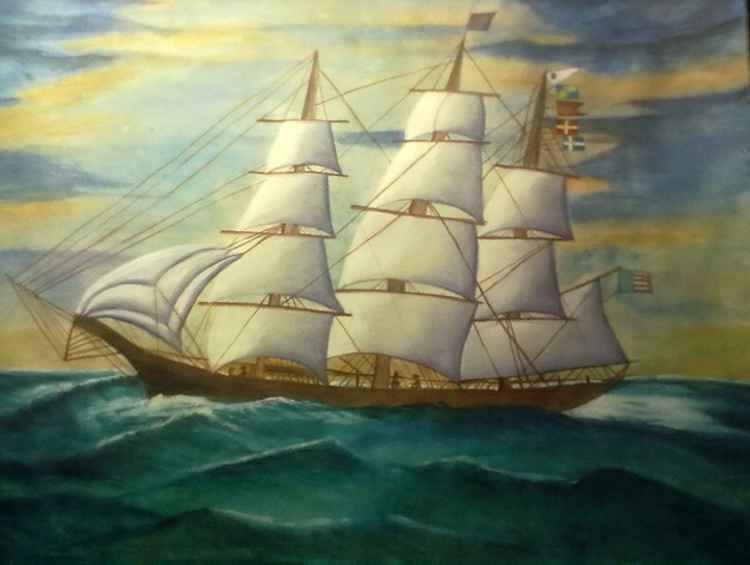 Sailing Smooth- Original Painting
