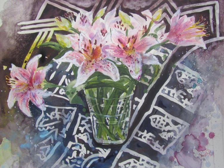 (large original) Lily Flowers - Image 0