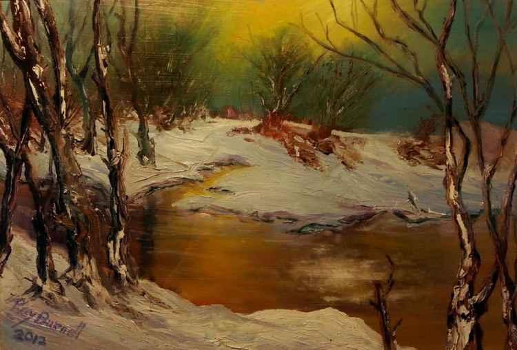 River Tâf in Winter