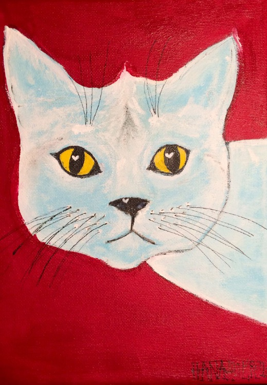 WHITE CAT - Image 0