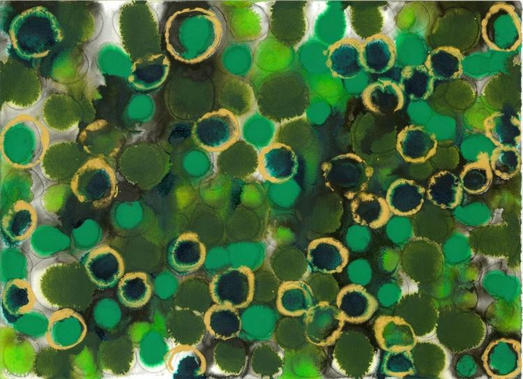 "Lustre - 8 - ""Emerald and Peridot"" - Image 0"