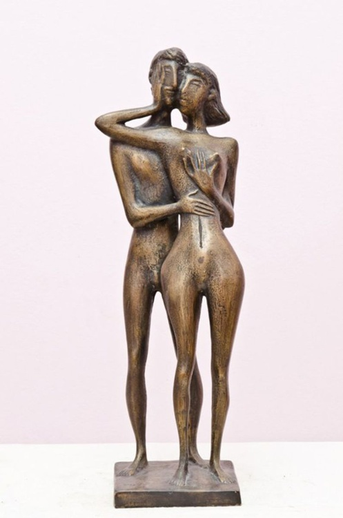 Moment  BRASS 2002year19x6x5in FOR SALE - Image 0