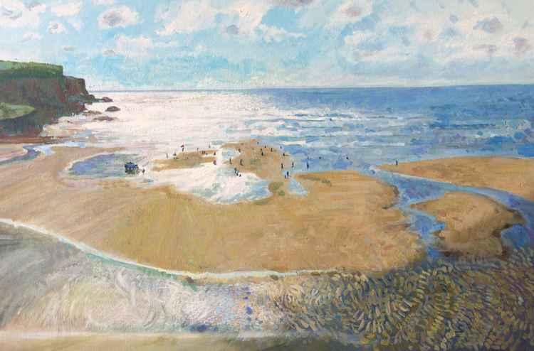Mawgan Porth Beach, Cornwall -