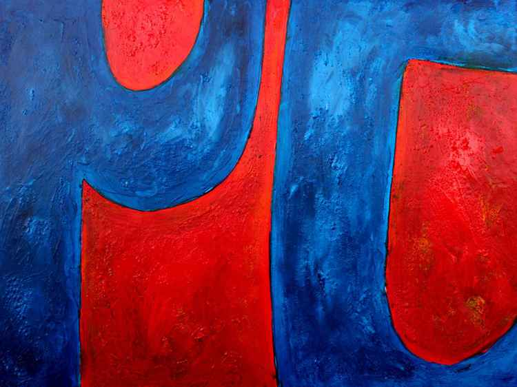 Red on Blue #2