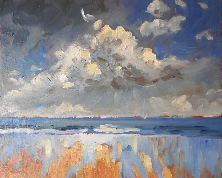 Cloud Over Druridge Bay - Image 0