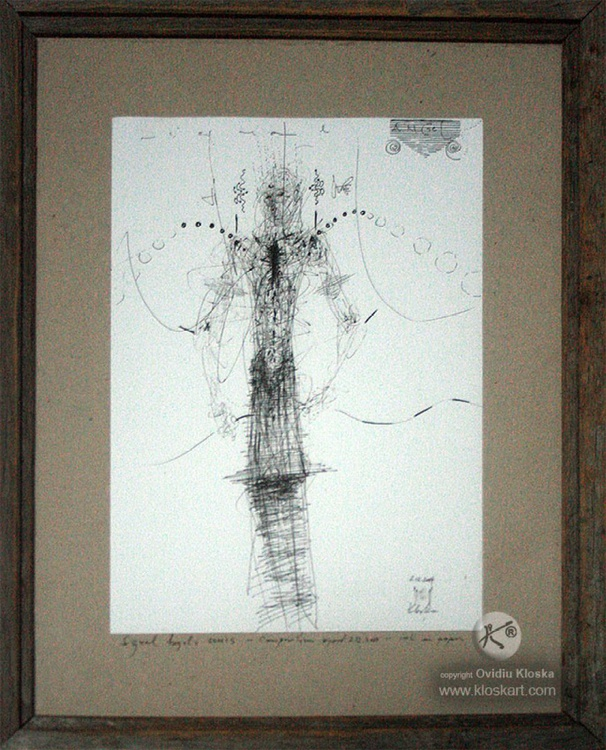 Signal Angels series, composition signed 7 december 2014 - Image 0