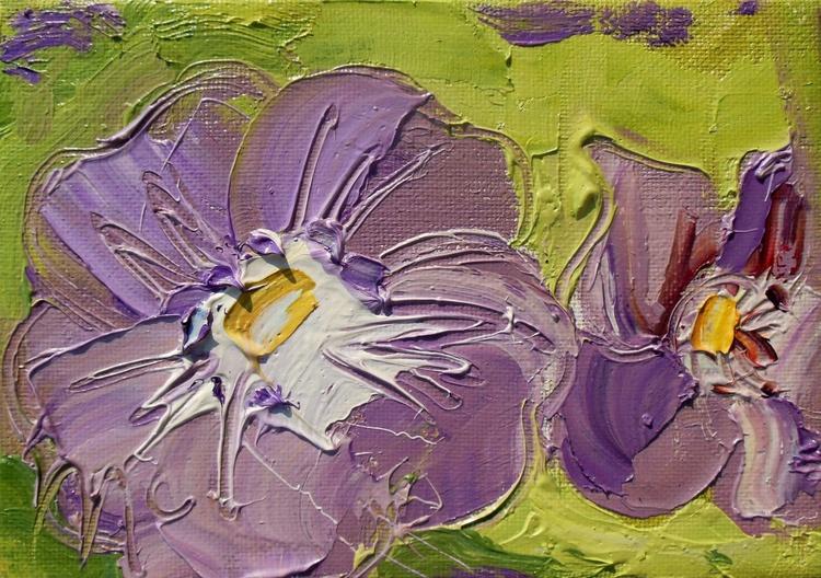 Geranium - Purple Flowers - Image 0