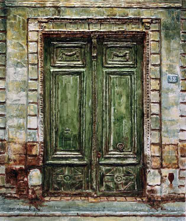 Parisian Door No. 32 -
